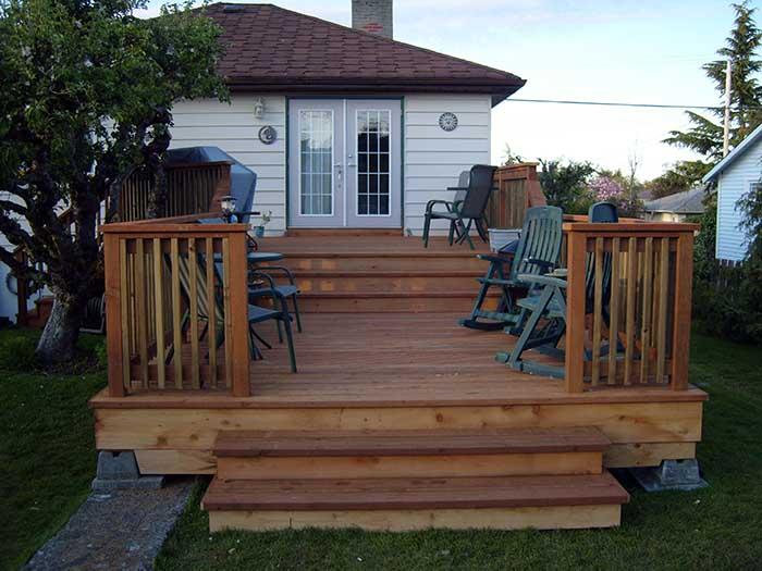 new decks victoria bc